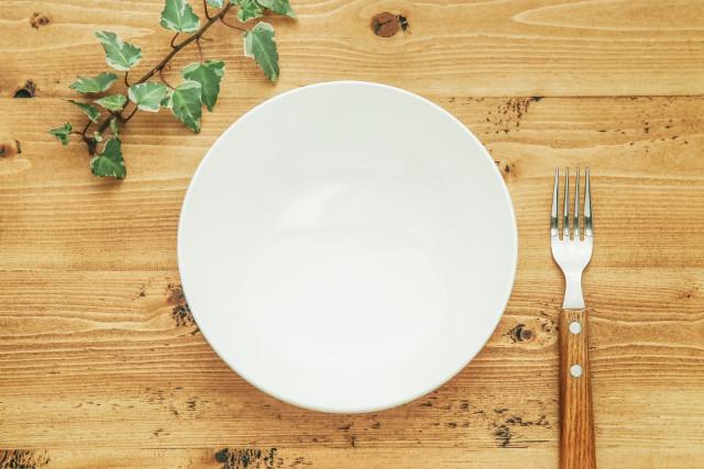 お皿とフォーク